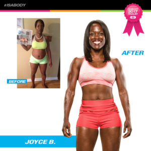 Joyce Before and After Isagenix
