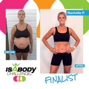 Rachelle's Isagenix IsaBody Challenge Results