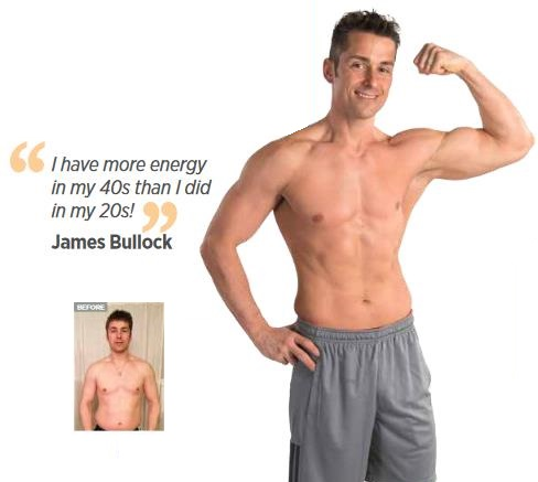 James on the Energy & Performance Pack