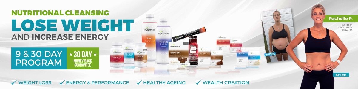 Buy Isagenix Products from Nutritional Cleanse