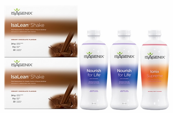 Isagenix Shake and Nourish Pack