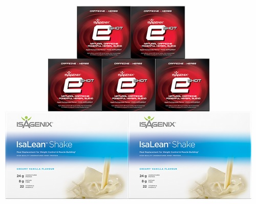 Isagenix Shake and Shot Pack