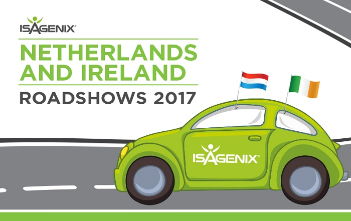 Isagenix Is Coming To The Netherlands And Ireland