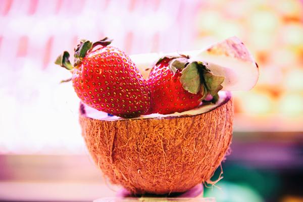 Strawberry coconut
