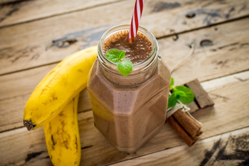 Choc banana shake recipe
