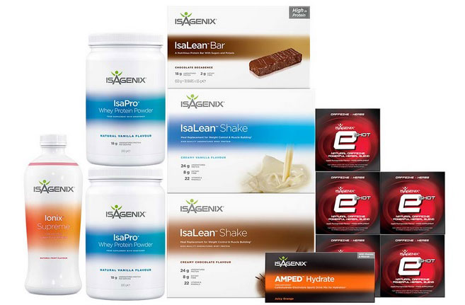 Isagenix 30 day energy performance system