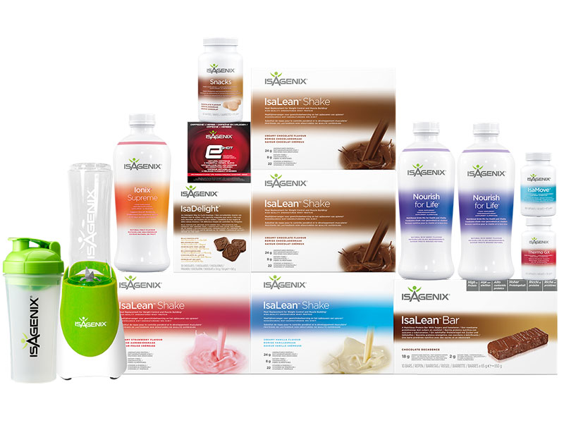 Isagenix Weight Loss Premium Pack Buy Direct In Uk