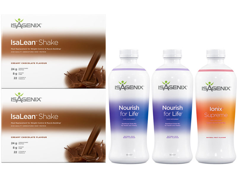 Isagenix Shake & Nourish Pack