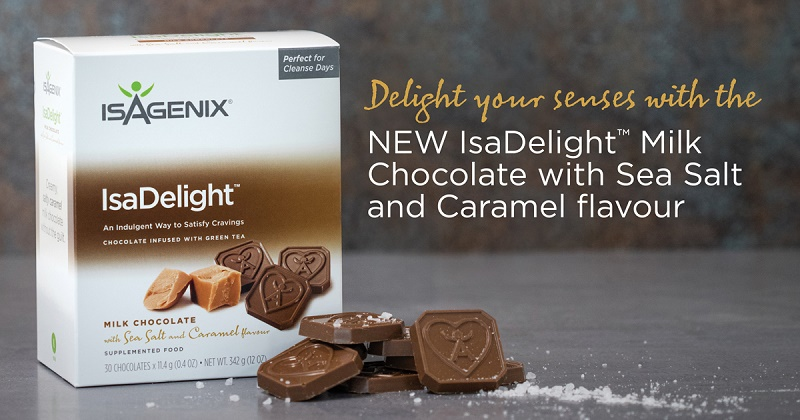 New Isagenix Sea Salt and Caramel IsaDelights