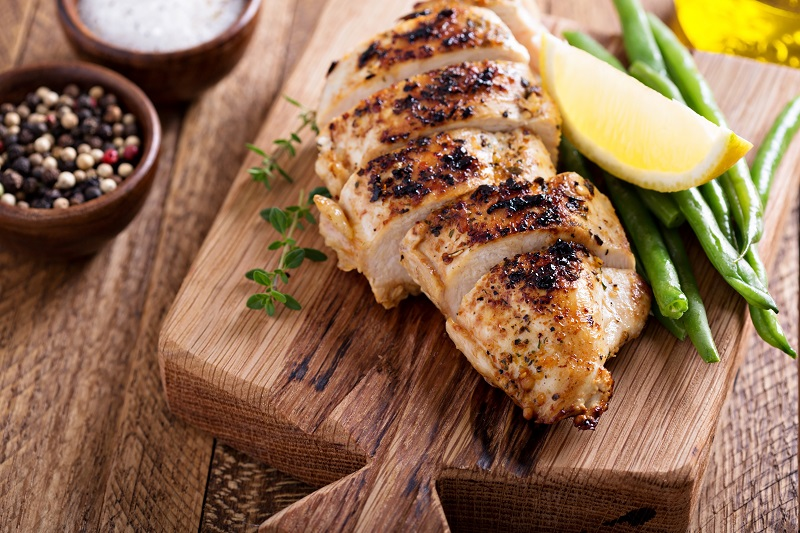 Grilled chicken can be a metabolism booster