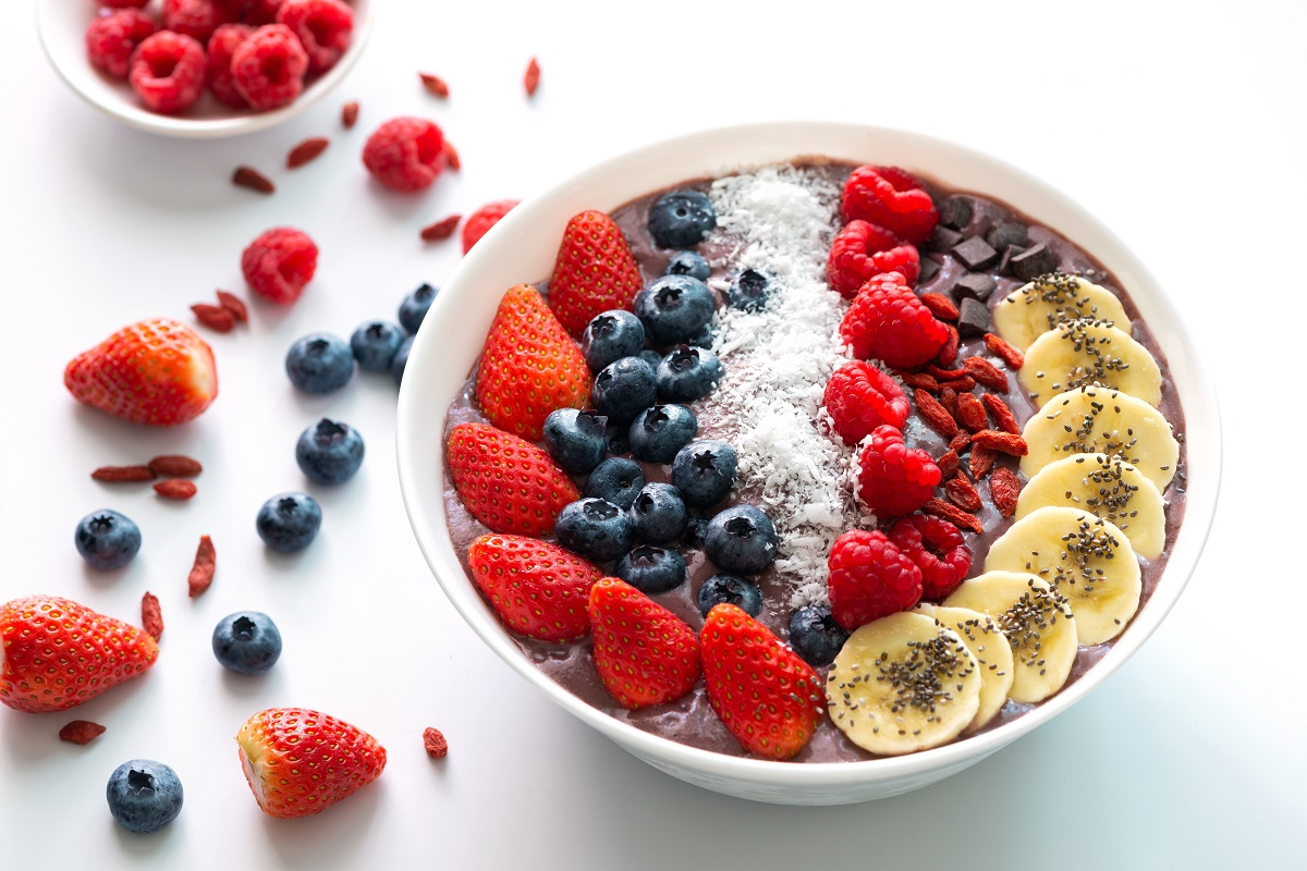Enjoy an acai breakfast bowl and you're body will thank you for it!