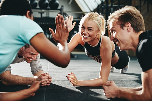 Embarking on an exercise plan in a group can be beneficial