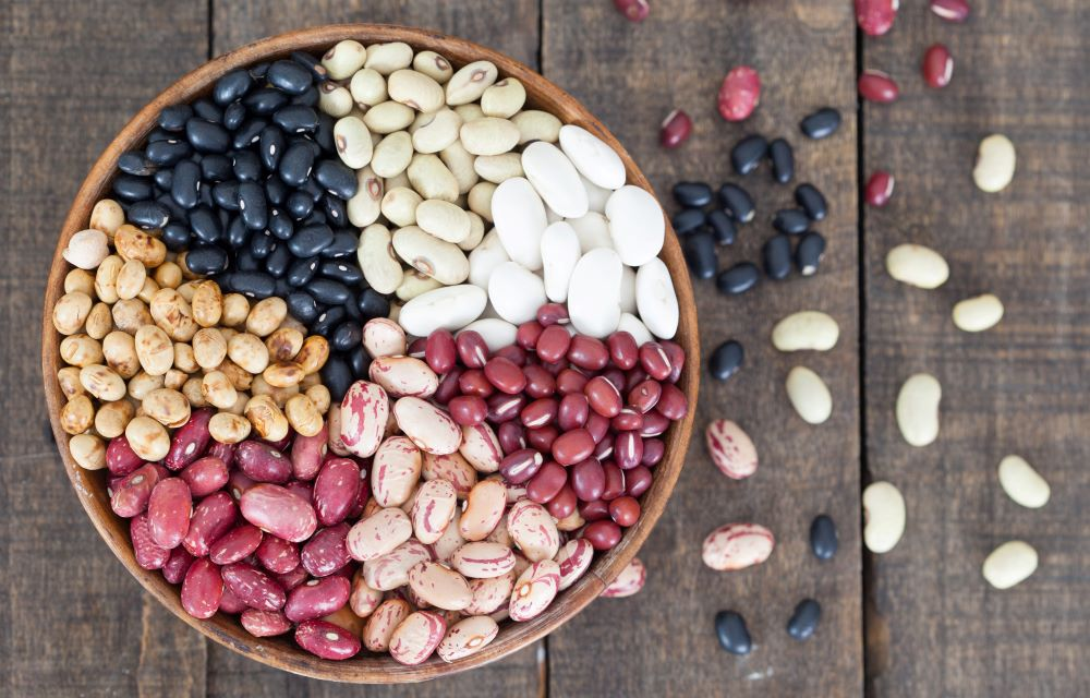 Eliminate beans from your diet or just eat the digestible ones like black and pinto beans.