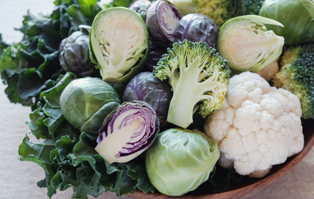 Cruciferous vegetables unfortunately causes bloating but can be replaced with other greens.
