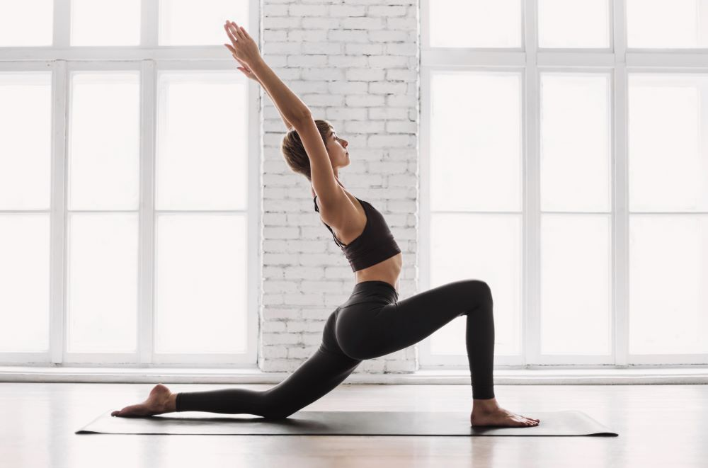 Yoga is excellent in improving digestion and beating bloating.