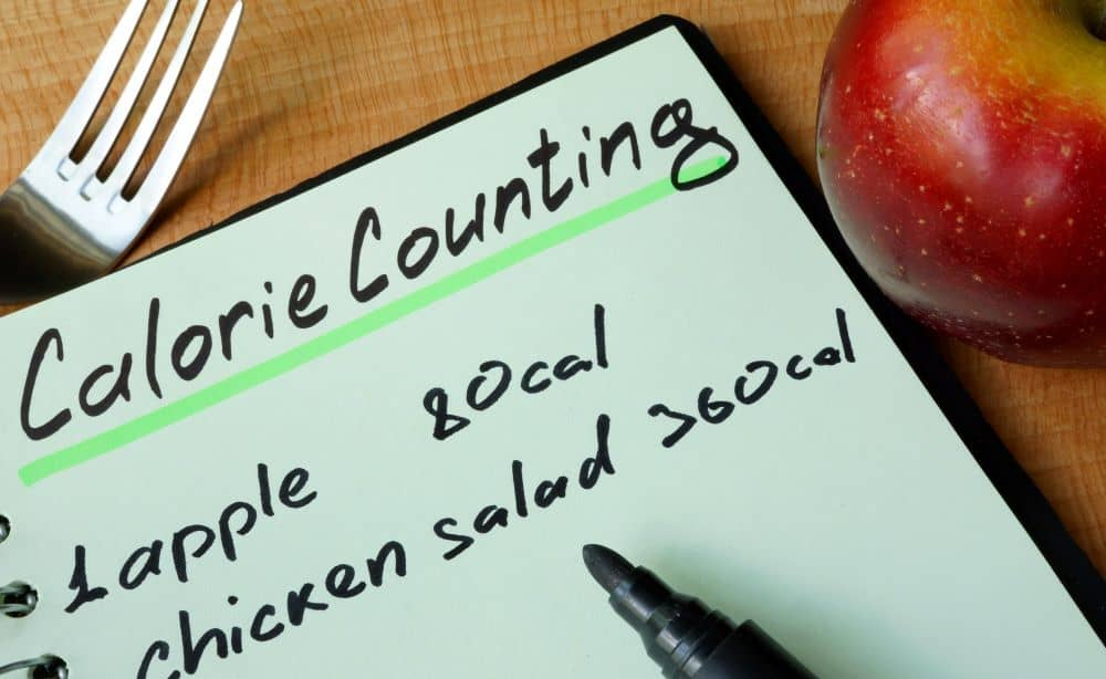 Counting calories can be motivational but its also time consuming and a bit tiring.