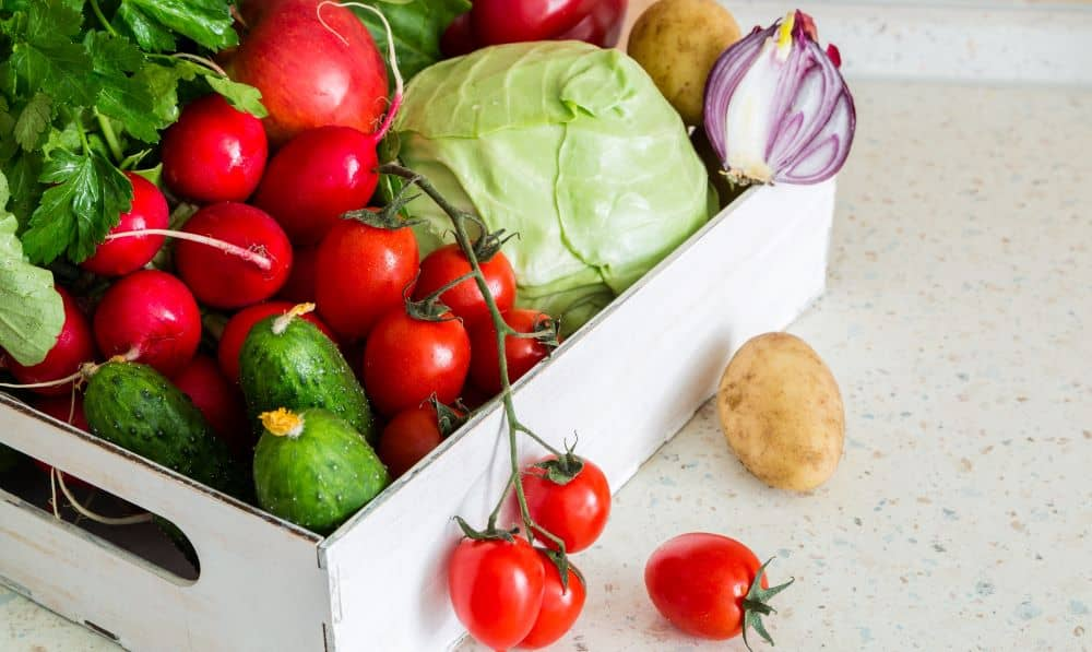 Eating fresh produce ensures that your no preservatives and chemicals have been added to your food.