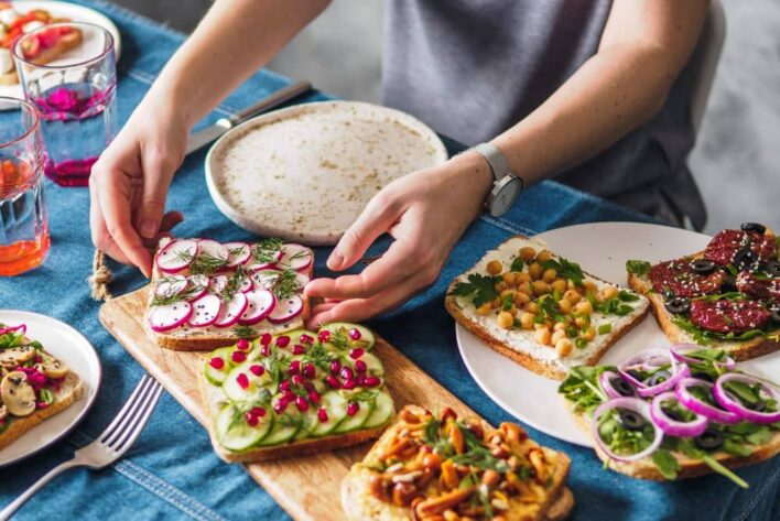To eat with less meat, it's important to include more plant protein